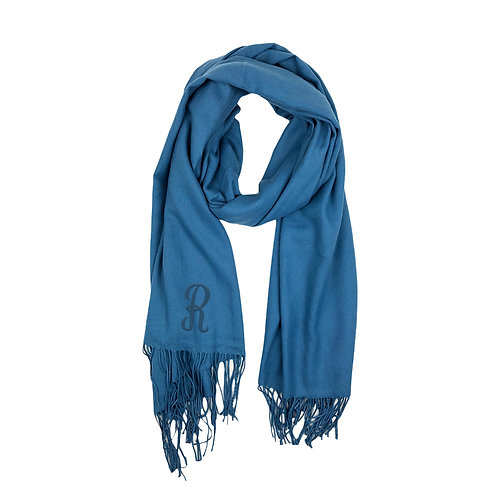 Cashmere Scarf - Blue