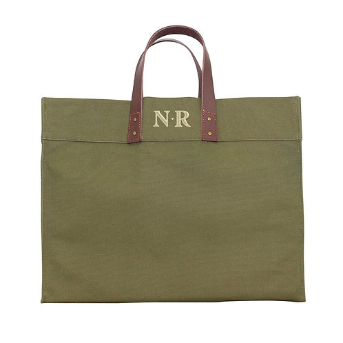 Olive Utility Tote