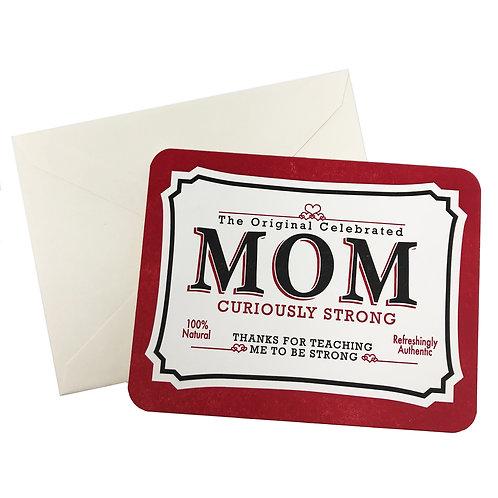 Vintage Mom tin Card