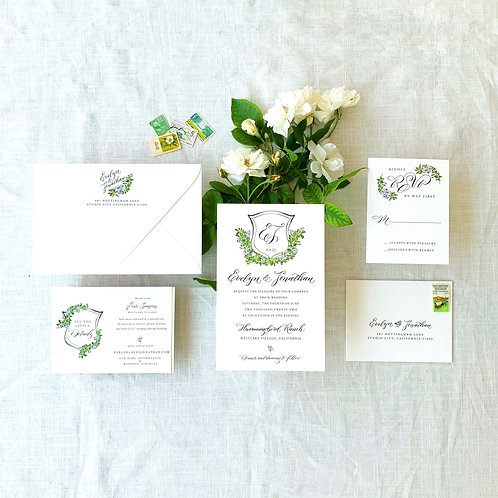 EVELYN 5 PIECE SUITE