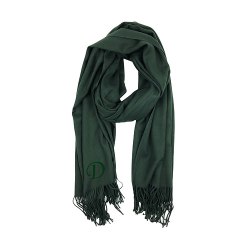 Cashmere Scarf - Forest Green