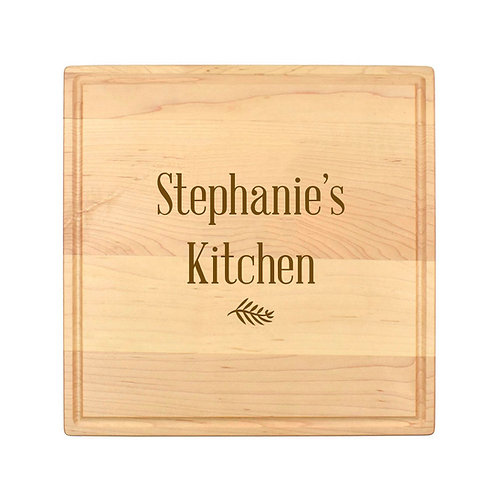 Personalized Square Cheese Board-016
