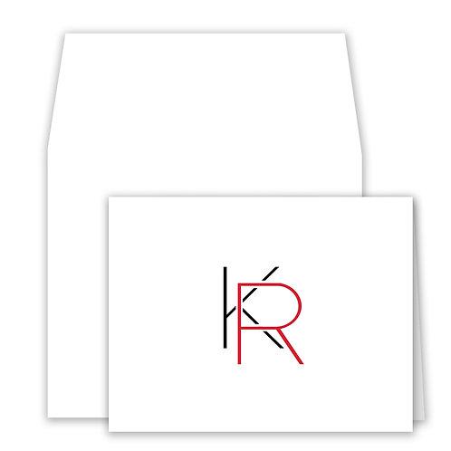 Set of 25 Notecards - D013