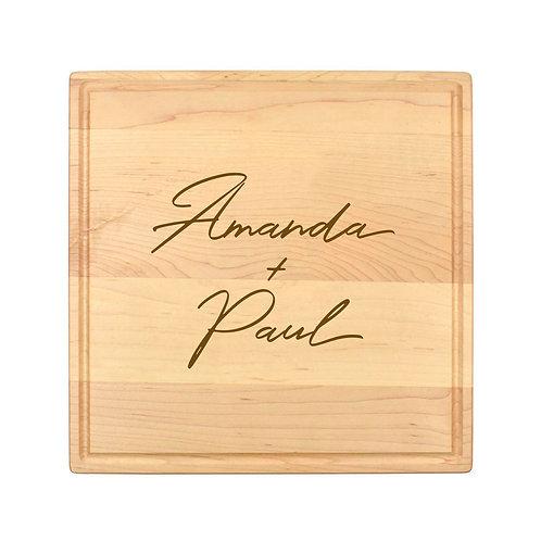 Personalized Square Cheese Board-014