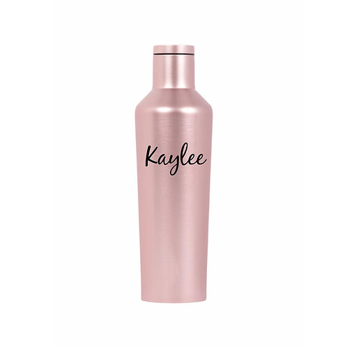 Corkcicle 16 oz Canteen (Rose Metallic)