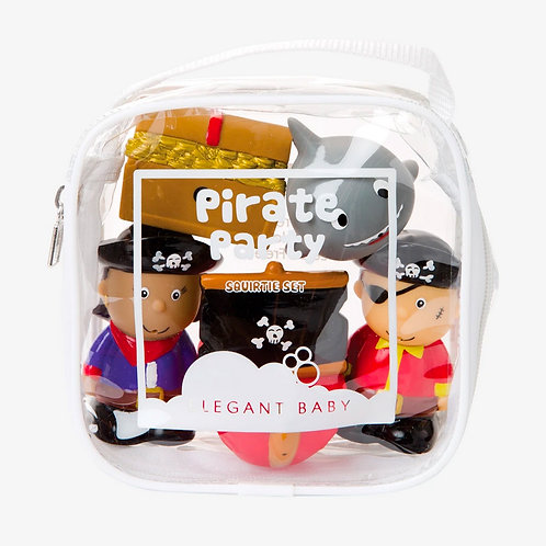 Pirate Party Bath Squirt Toys