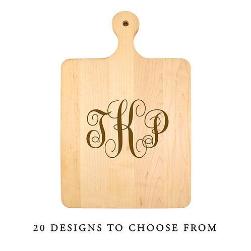 Personalized Maple Handle Board