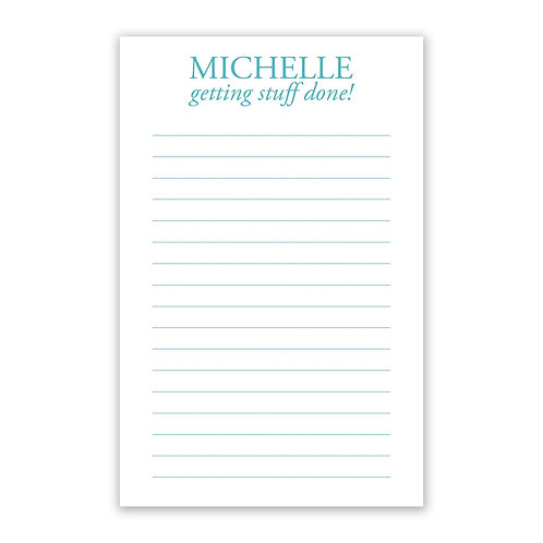 Getting Stuff Done Notepad