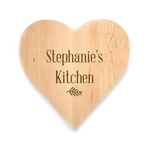 Personalized Maple Heart Board-015