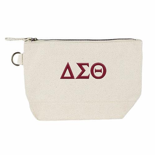 College Greek Letters Canvas Bag