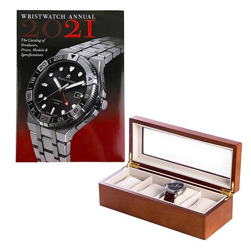 Brown Watch Box & Wrist Watch Annual 2021