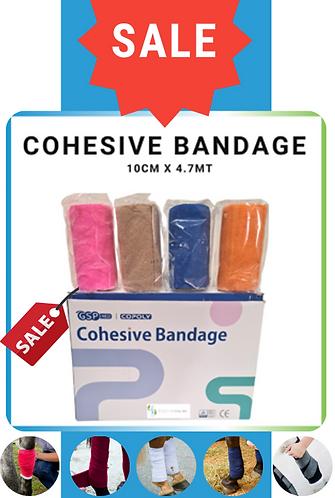 Cohesive Wrap 10cm x 4.7mt x 4 rolls