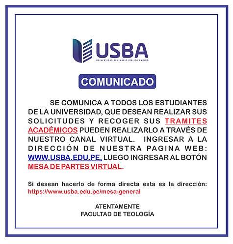 1.- COMUNICADO SOLICITAR Y RECOGER DOCUM