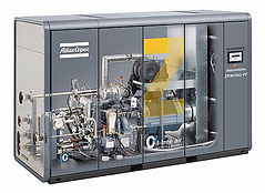 Atlas Copco Variable Speed Drive Air Compressors VSD, Atlas Copco, Screw Compressors, ontario, mississauga, toronto, gta