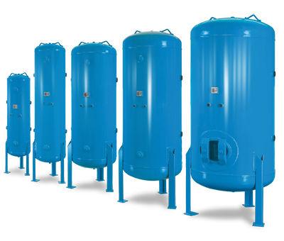 air receivers, vacuum vessels