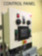 water pump vacuum priming system control panel