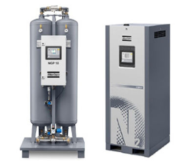 atlas copco nitrgen and oxygen gas generators