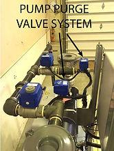 water pump vacuum priming system purge valve