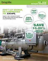 save on energy, compressed air