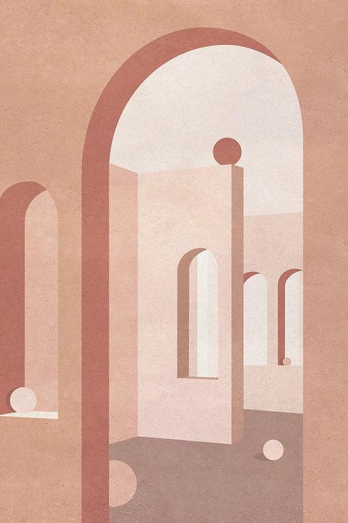 Casa Corbero in Pink
