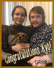 Congratulations Kyo!