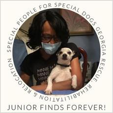 Copngratulatuions Junior!