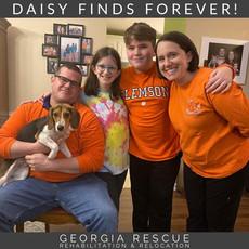 Congratulations Daisy!