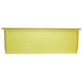 "6 1/4"" (15.88 cm) Waxed Standard Plastic Frame - Natural - Each"