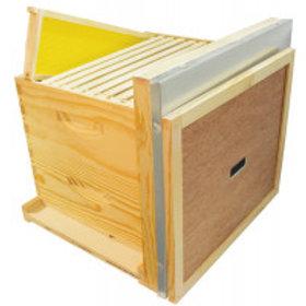 """Complete 10 Frame 6 5/8"""" (16.83 cm) Hive Kit - Wood Frames"""