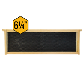 """6 1/4"""" Assembled Frames - With Black Waxed Rite-Cell - Each"""