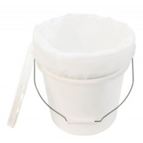 5 Gallon (18.92 l) Pail - With Lid and Filter