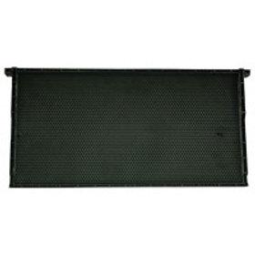 "9 1/8"" (23.18 cm) Waxed Standard Plastic Frame - Black - Each"
