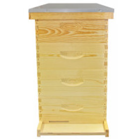 "10 Frame 6 5/8"" (16.83 cm) Growing Apiary Kit - Wood Frames"