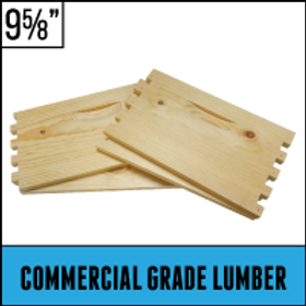 "8 Frame - 9 5/8""  Unassembled Hive Body - Commercial Grade - Case of 5"