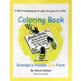 Grandpa's Hidden Gold Farm Coloring Book   Product Code: BM-882