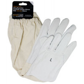 Economy Cowhide Leather Gloves - Large