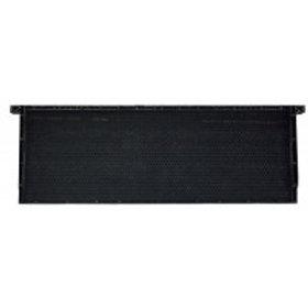 "6 1/4"" (15.88 cm) Waxed Standard Plastic Frame - Black - Each"