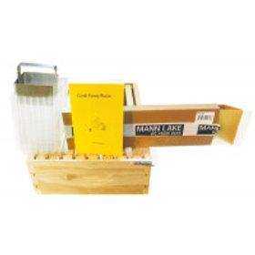 8 Frame Comb Honey Super Kit