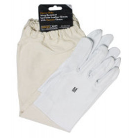 Economy Cowhide Leather Gloves - Medium