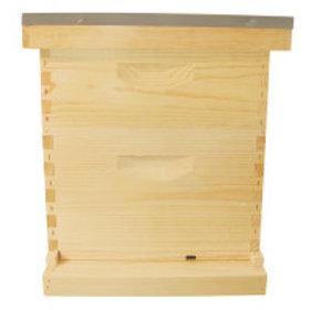 10 Frame Complete Hive Kit Combo - Wood Frames