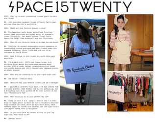 Interview with UO space15twenty