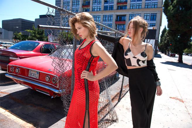 Lea Seydoux + Adele Exarchopoulos