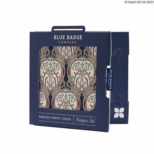 Blue Badge Permit Cover - Art Noveau  VAT EXEMPT