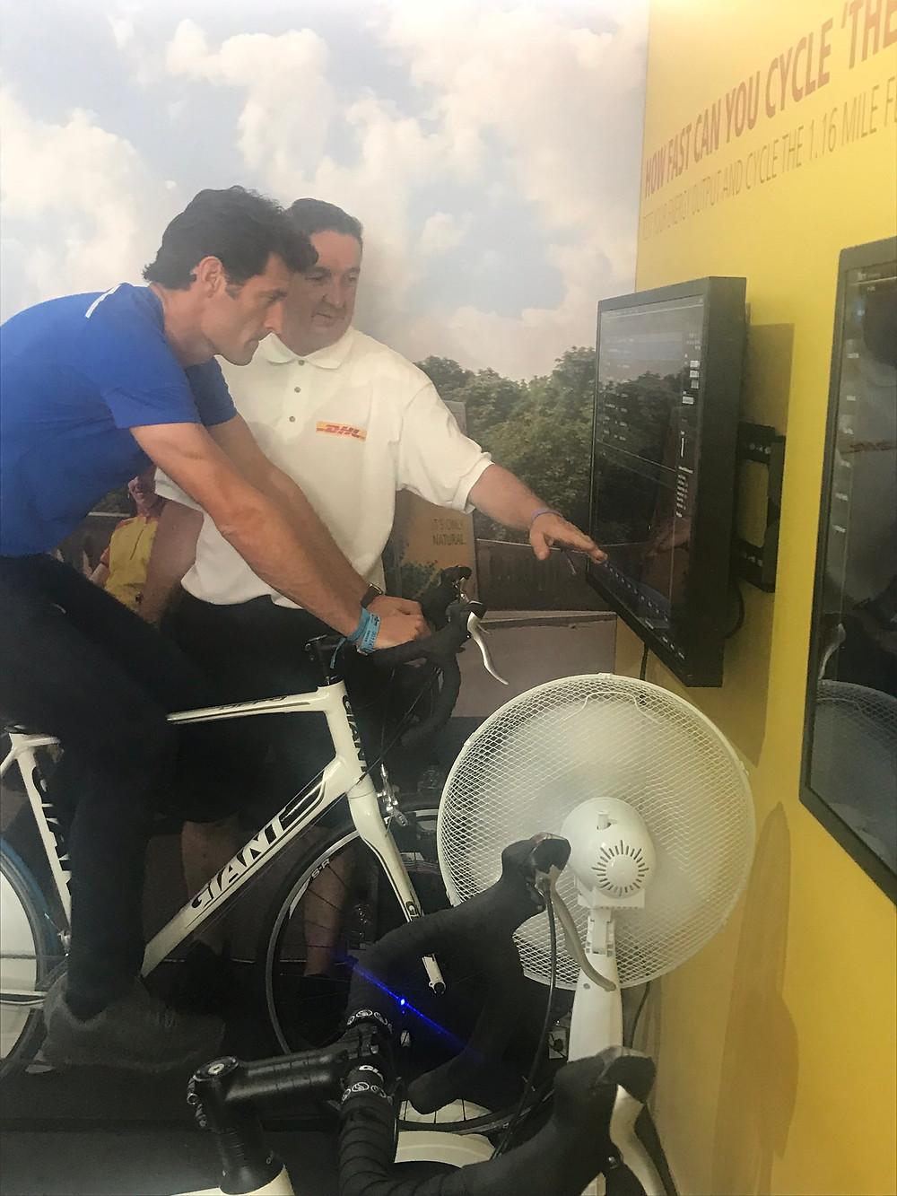 Cycle Simulator hire, cycling simulator rental