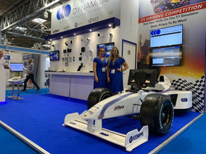 More exciting Racing at @necbirmingham with the #f1simulator