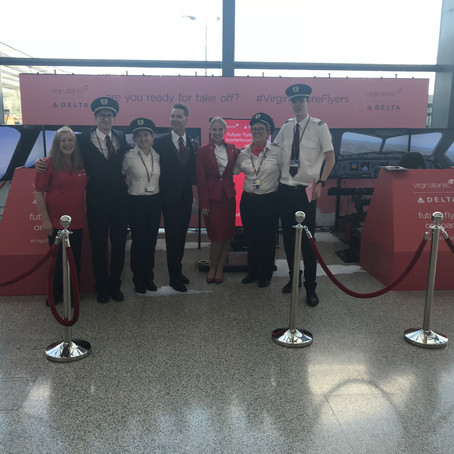 Virgin Atlantic team up with PSW Events at Heathrow