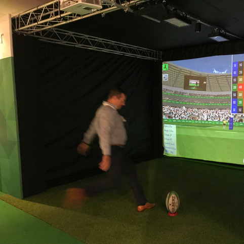 Rugby Simulator kick