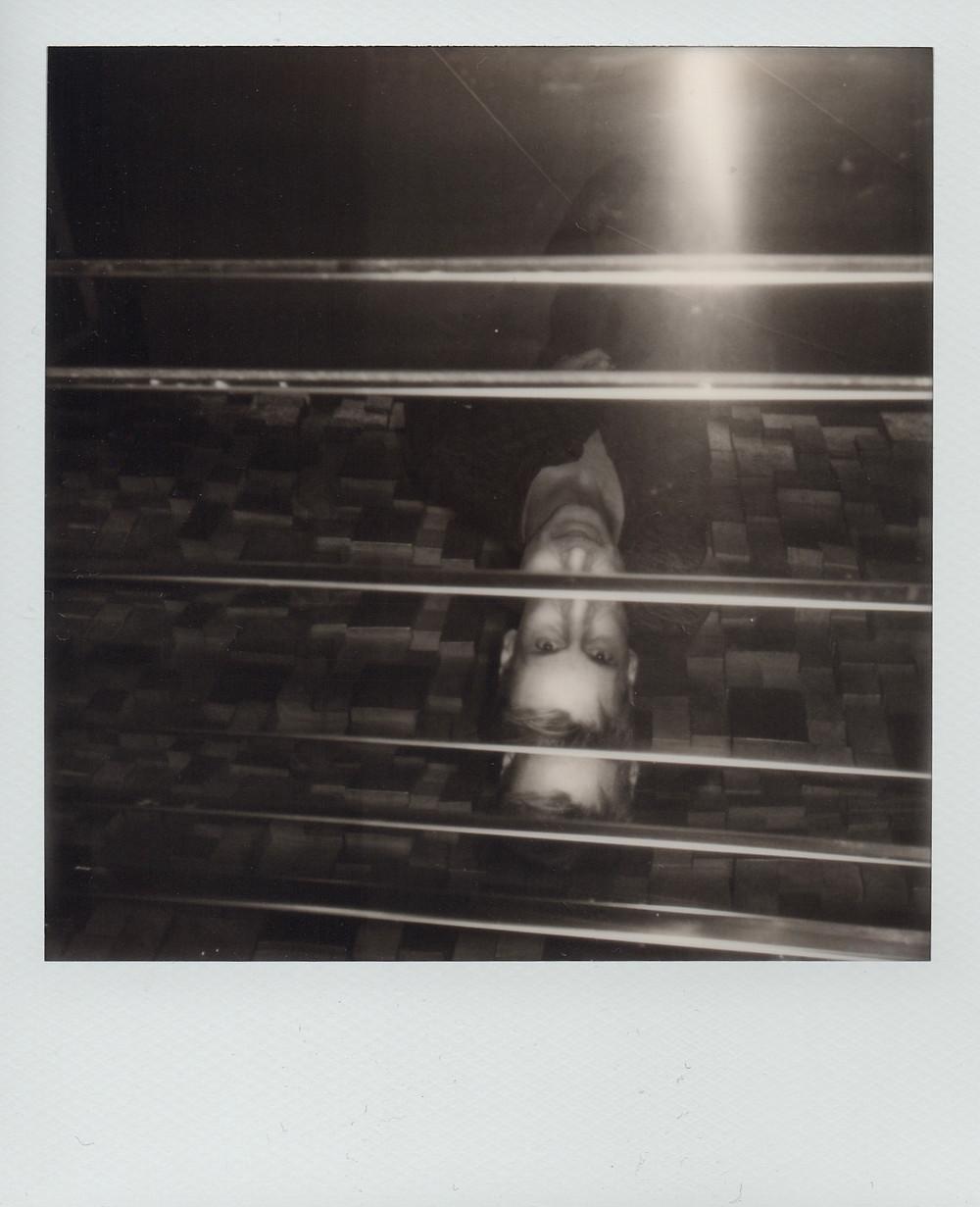Portrait de Daniele Balice au Polaroïd