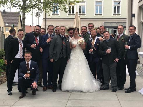 Hochzeit eines Bundesbruders
