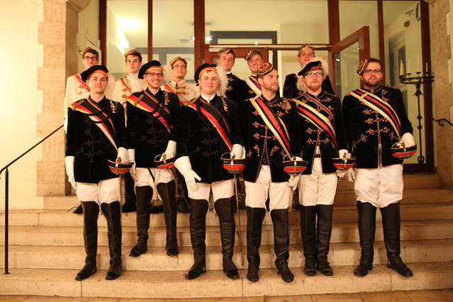 Stiftungsfest bei Verbandsbrüdern